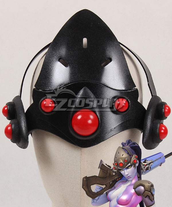 ENA0247 Overwatch OW Widowmaker Amelie Lacroix Head wear Cosplay Accessory Prop