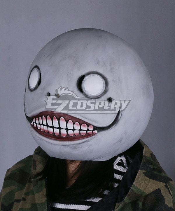 NieR: Automata Emil Halloween Mask Cosplay Accessory Prop None