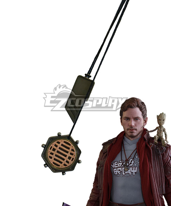 Marvel Guardians of the Galaxy Vol. 2 Star-Lord Peter Jason Quill Necklace Cosplay Accessory Prop None