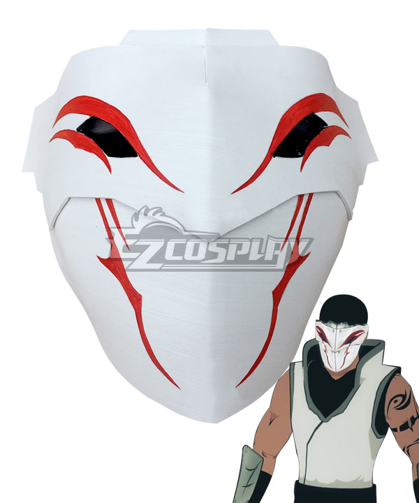 RWBY Volume 2 White Fang Lieutenant Mask Cosplay Accessory Prop None