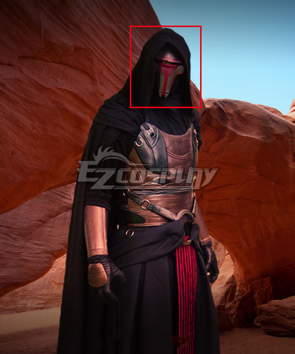 Star Wars: Old Republic Sith Lord Darth Revan Mask Cosplay Accessory Prop None