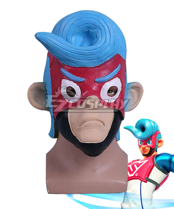 Nintendo Switch Arms Spring Man Mask Cosplay Accessory Prop None