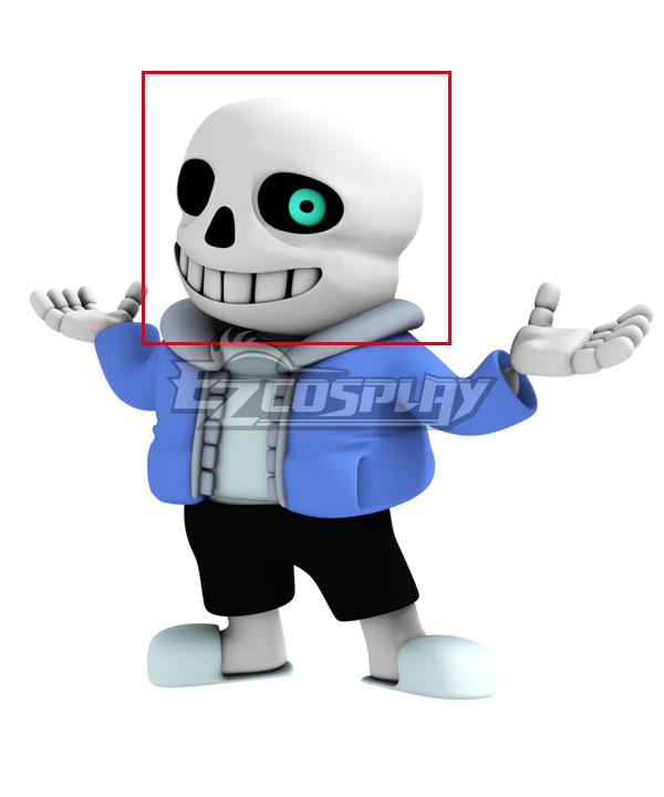 Undertale Sans Mask Halloween Cosplay Accessory Prop None