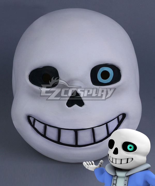 Undertale Sans Mask Halloween Cosplay Accessory Prop None