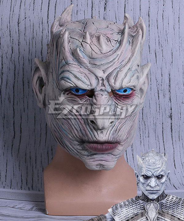 Game of Thrones Night's King Mask Halloween Cosplay Accessory Prop None