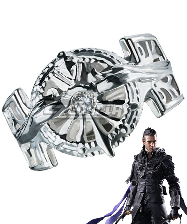 Kingsglaive Final Fantasy XV FF15 Nyx Ulric Noctis Lucis Caelum Ring of the Lucii Cosplay Accessory Prop None