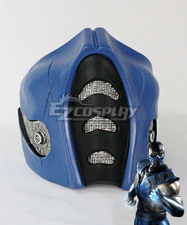 Mortal Kombat Frosty Sub-Zero SubZero Mask Cosplay Accessory Prop None