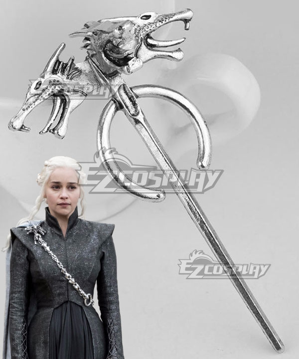 Game of Thrones Season 7 Daenerys Targaryen Brooch Cosplay Accessory Prop None