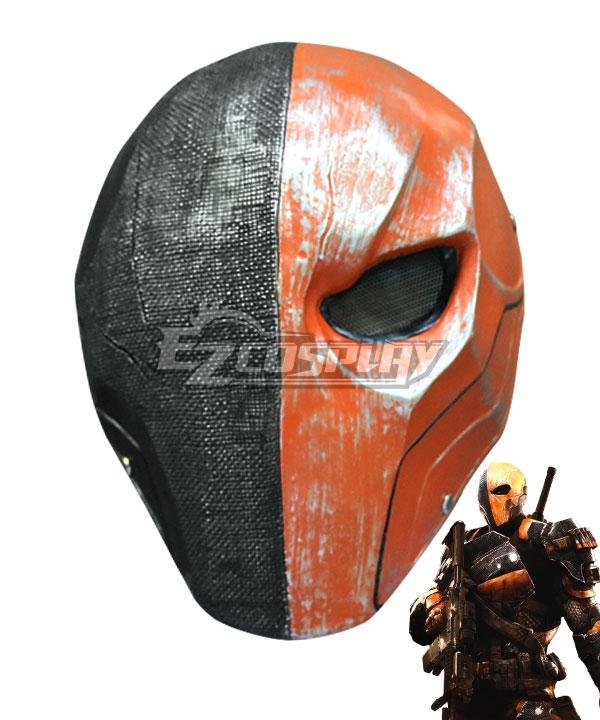 DC Comics Justice League Slade Joseph Wilso Deathstroke Mask Cosplay Accessory Prop None