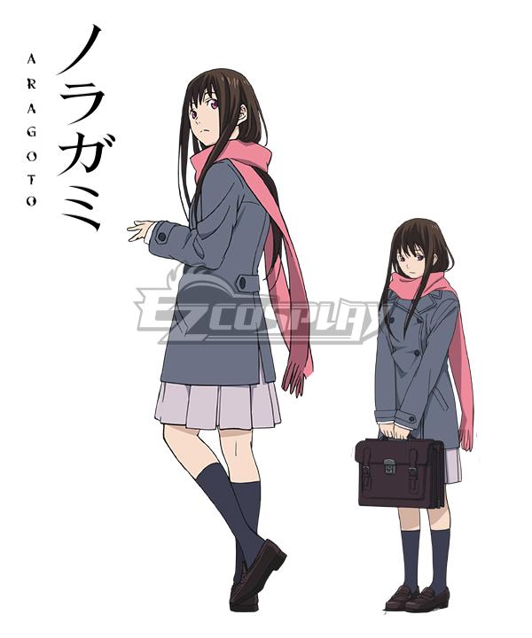 Noragami Aragoto Hiyori Iki Cosplay Costume (Only Coat and Scarf)