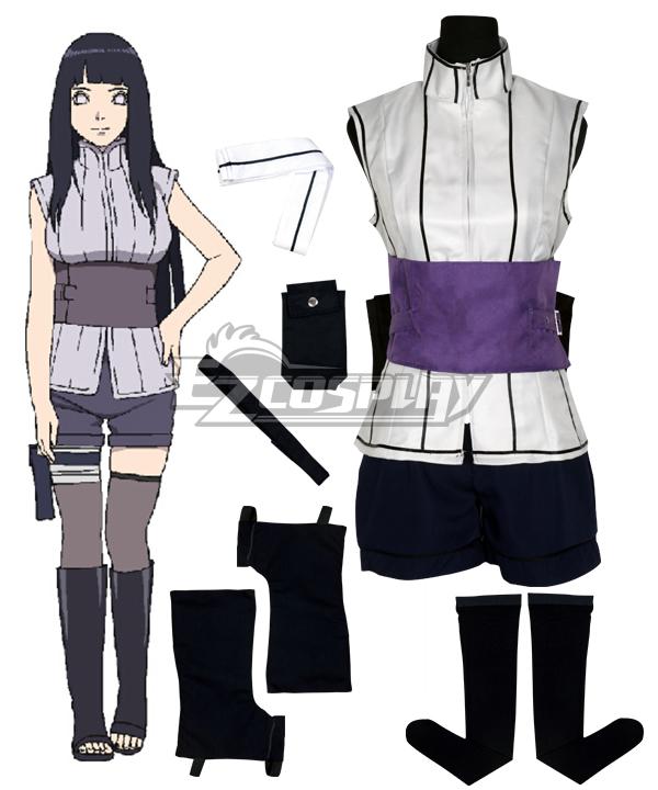 The Movie The Last Naruto Hinata Cosplay Costume