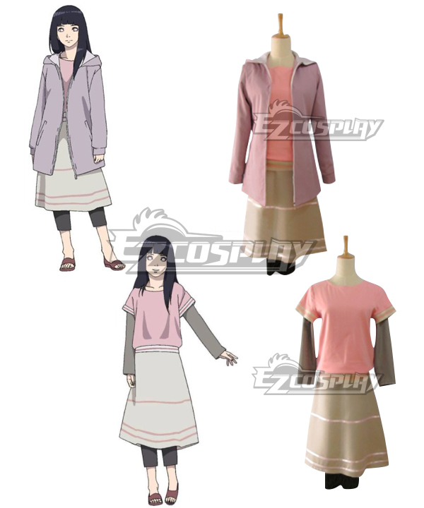 Naruto The movie The Last Hinata Cosplay Costume Outfits