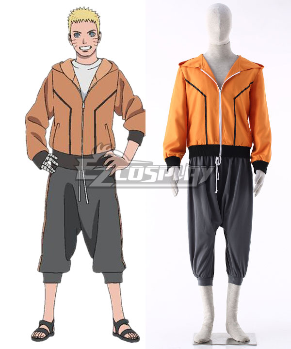 The Last Naruto The Movie Naruto Uzumaki Cosplay Costume None