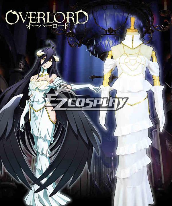 Overlord Albedo Cosplay Costume