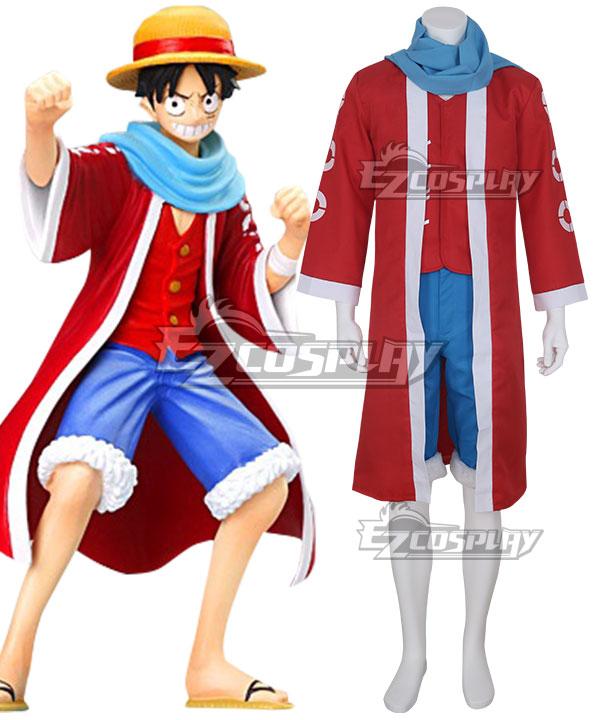 One Piece Monkey D Luffy Desert Cosplay Costume