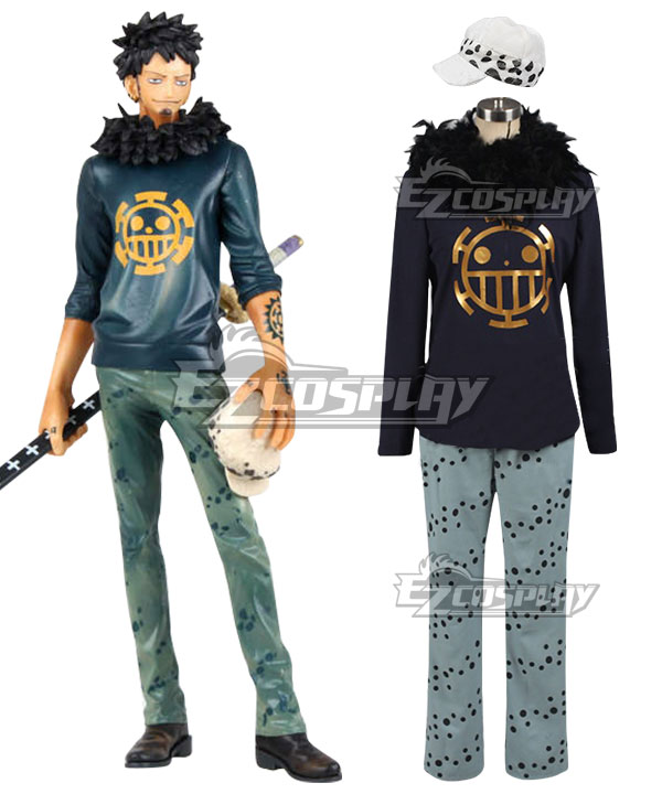 Anime Costumes EOP0081 One Piece Trafalgar Law Trafalgar D Water Law Cosplay Costume
