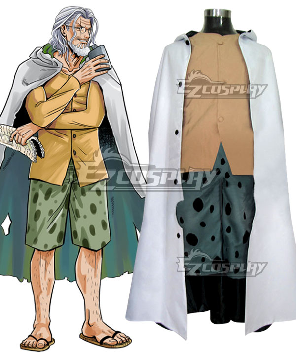 Anime Costumes EOP0082 One Piece Silvers Rayleigh Cosplay Costume