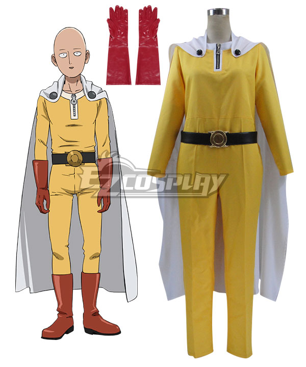 Product Details  sc 1 st  EZcosplay.com & One Punch Man Saitama Caped Baldy Hagemanto Cosplay Costume