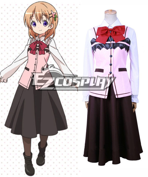 Gochuumon wa Usagi Desu ka? Is the Order a Rabbit? Cocoa Hoto Cosplay Costume None