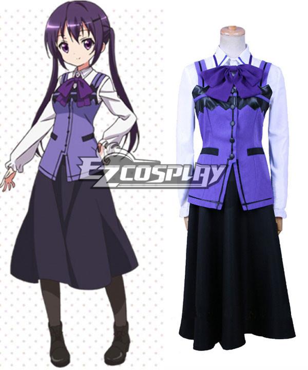 Gochuumon wa Usagi Desu ka? Is the Order a Rabbit? Rize Tedeza Cosplay Costume None