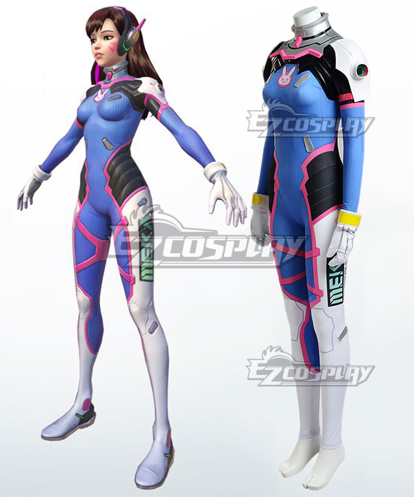 Overwatch OW D.Va DVa Hana Song Cosplay Costume(Armor Version)