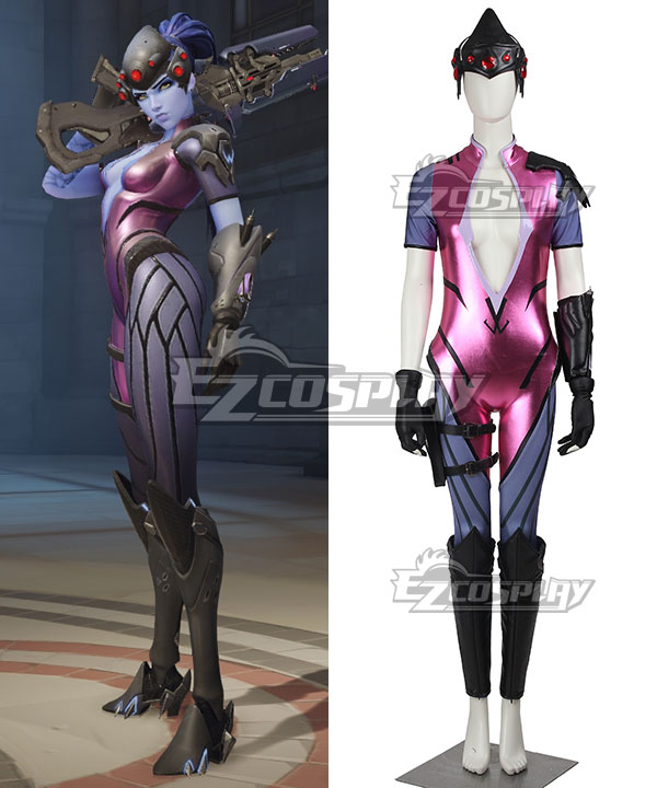 EOWG012 Overwatch OW Widowmaker Amelie Lacroix Cosplay Costume