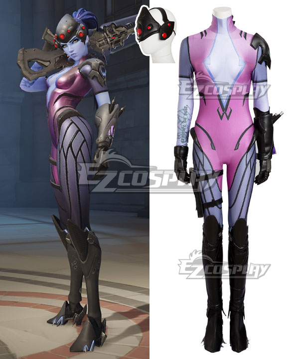 EOWG017 Overwatch OW Widowmaker Amelie Lacroix Cosplay Costume