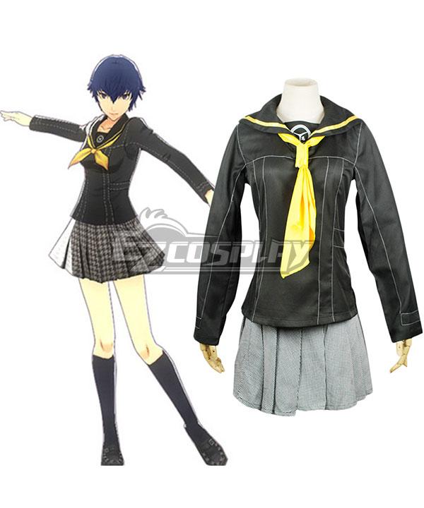 Persona 4 Shin Megami Tensei Shirogane Naoto School Uniform Cosplay Costume