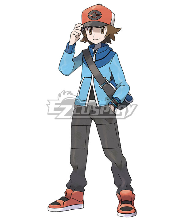 Pokémon Black White Pokemon Pocket Monster Hilbert Cosplay Costume None