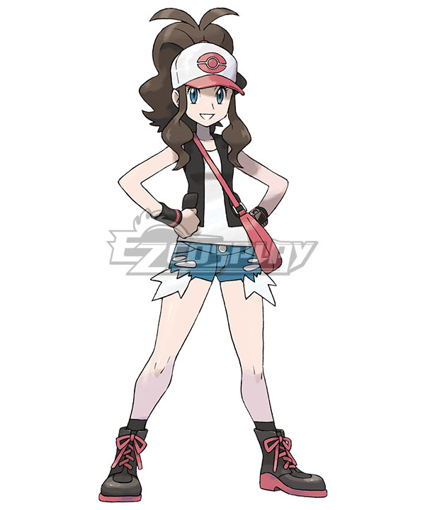 Pokémon Black White Pokemon Pocket Monster Hilda Cosplay Costume None