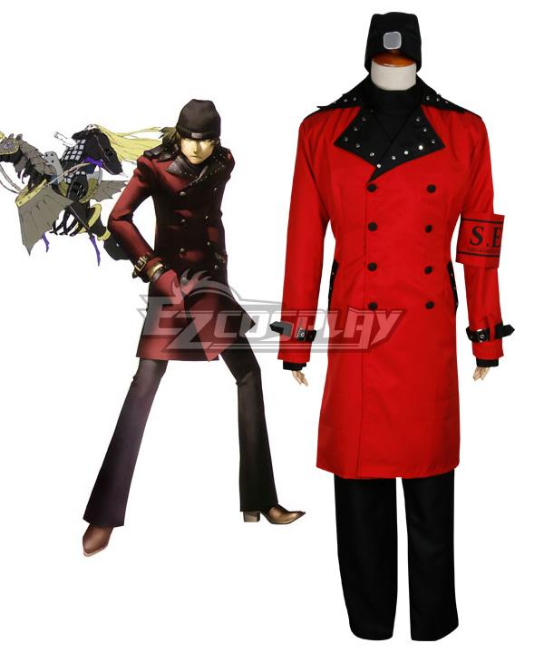 Persona 3 FES  Shinjiro Aragaki Cosplay Costume