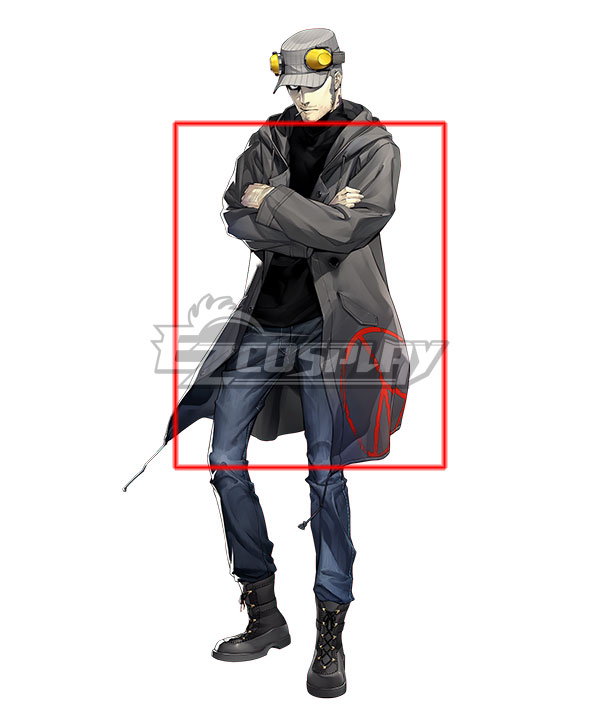 Anime Costumes EPR028 Persona 5 Munehisa Iwai Cosplay Costume (Only Coat)