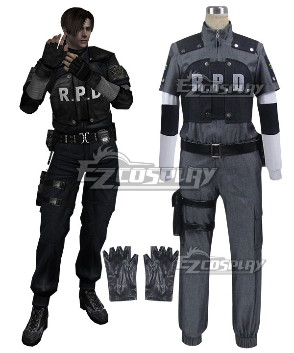 Note All Costumes ordered from us can be cancelled within 24 hours free of charge but orders cancelled after 24 hours are subject to a handling fee ...  sc 1 st  EZcosplay.com & Resident Evil 4 RPD Leon Scott Kennedy Cosplay Costume