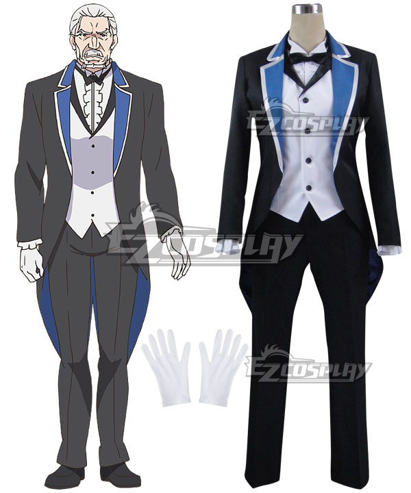 EREZ012 Re: Life In A Different World From Zero Wilhelm van Astrea Cosplay Costume