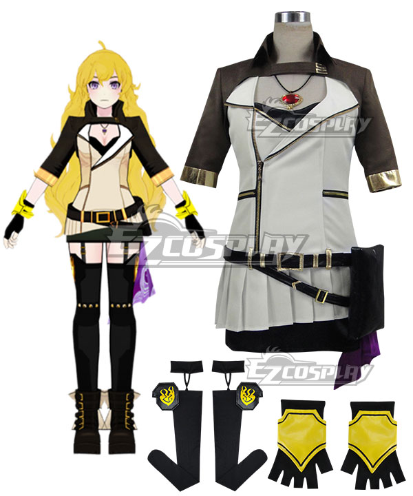 RWBY Volume 2 Yang Xiao Long Cosplay Costume None