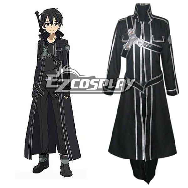 Sword Art Online SAO Sodo Ato Onrain Kirigaya Kazuto Kirito Cosplay Costume - Only Coat