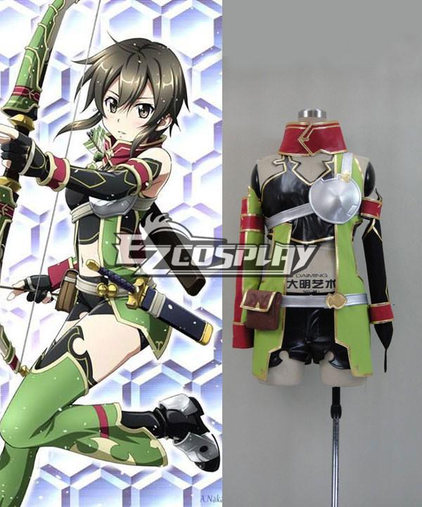 Sword Art Online ALfheim Online Sinon  Cosplay Costume