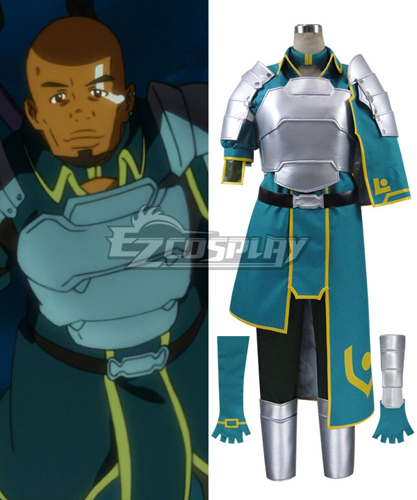 Sword Art Online SAO Agil Egiru Extra Edition Cosplay Costume