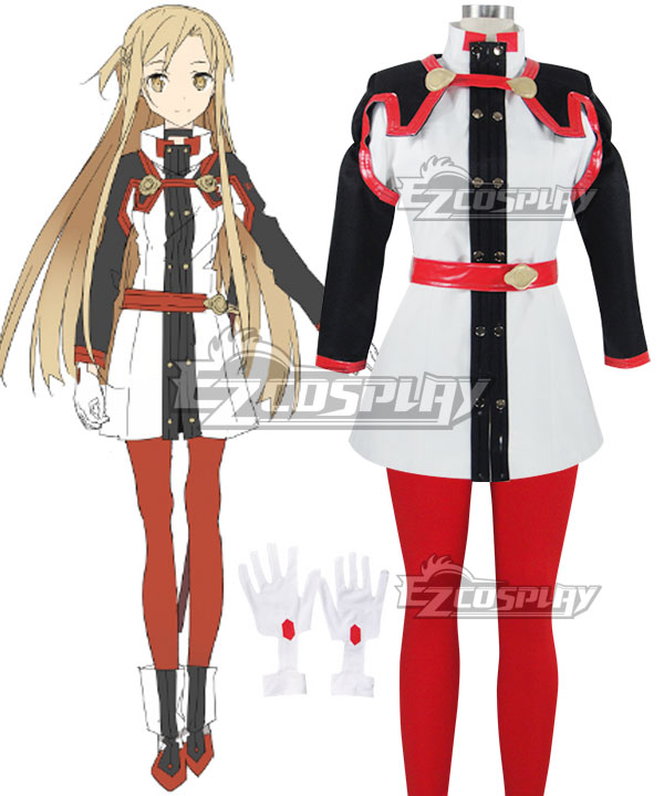 Sword Art Online Ordinal Scale Yuuki Asuna Yuki Asuna Movie New Cosplay Costume None