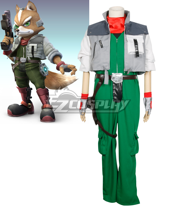 Starfox Fox McCloud Cosplay Costume