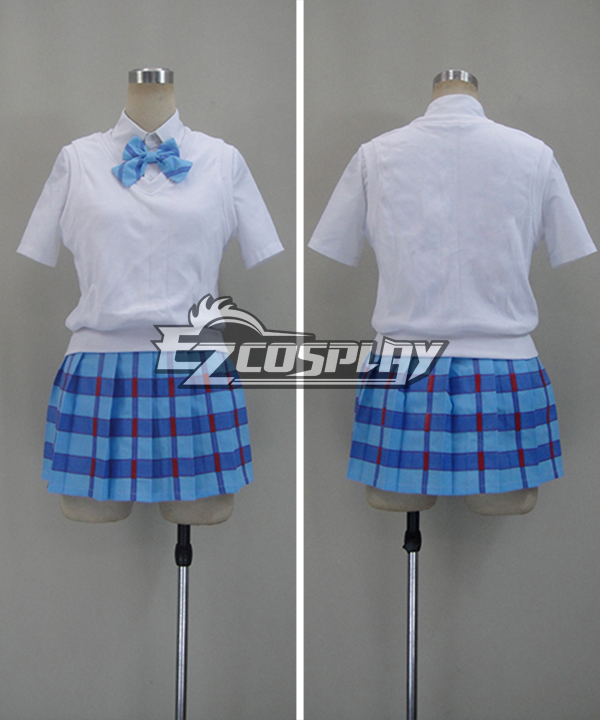 Image of LoveLive! Love Live! Eli Ayase Blue Otonokizaka Academy Summer Uniforms Cosplay Costume