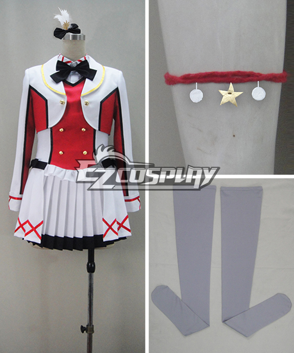 Image of LOVE LIVE2 LoveLive! Kousaka Honoka Performance Cosplay Costume