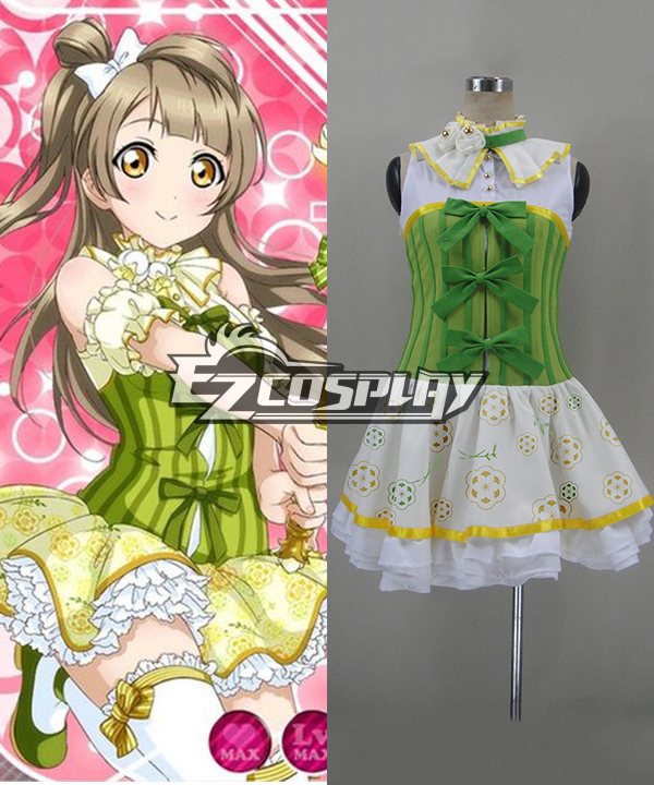 Love Live! School Idol Festival Minami Kotori Flower Series Cosplay Costume None