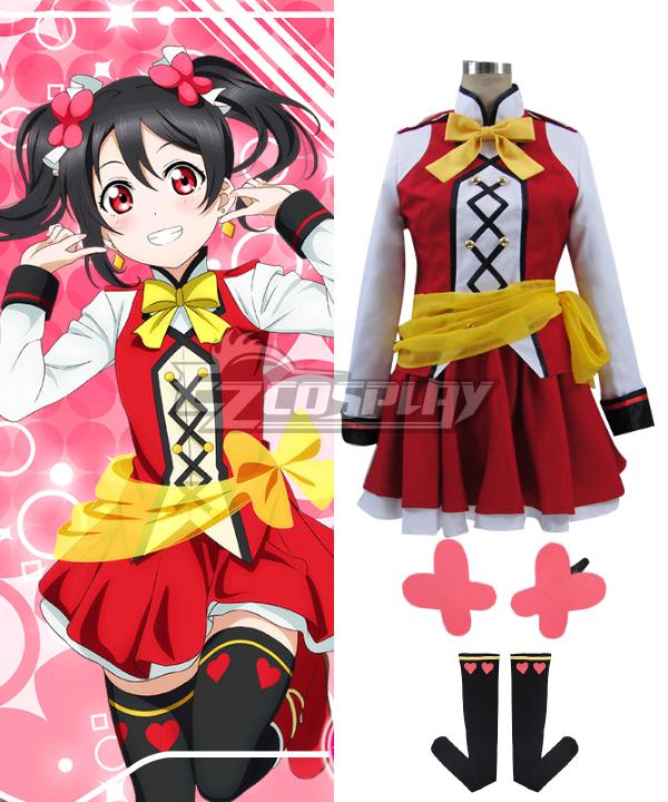 Image of Love Live! SR The School Idol Movie Nico Yazawa Cosplay Costume