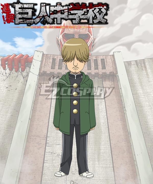 Shingeki! Kyojin Chuugakkou Attack On Titan: Junior High Mike Zacharias Cosplay Costume
