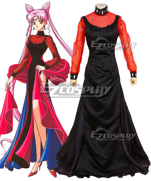 Sailor Moon Black Lady Tsukino Usagi Small Lady Serenity Chibi Usa Cosplay Costume