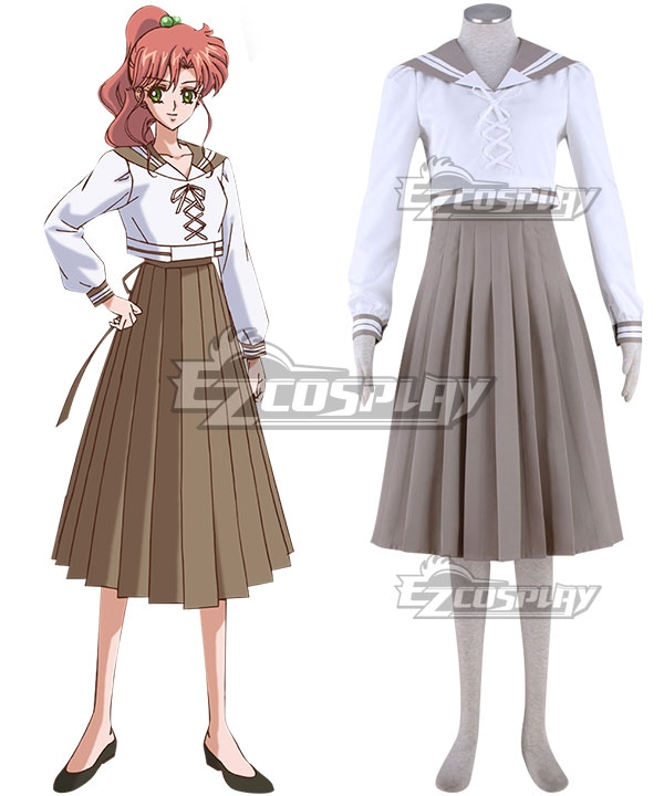 Sailor Moon Makoto Kino Sailor Suit Cosplay Costume ESM0033