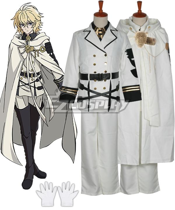 Seraph of the End Vampire Reign Owari no Serafu Mikaela Hyakuya Hyakuya Mikaera Cosplay Costume None