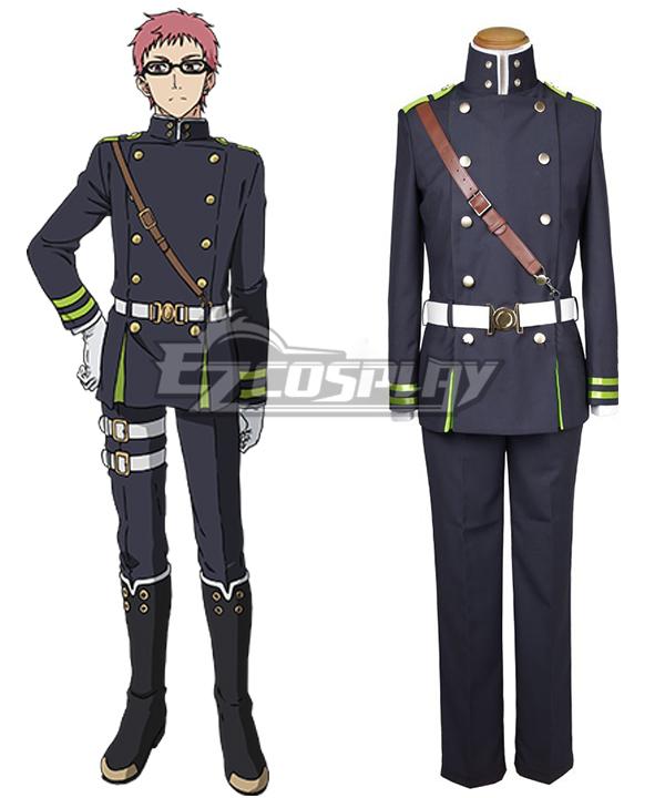 Seraph of the End Vampire Reign Owari no Serafu Shiho Kimizuki Cosplay Costume