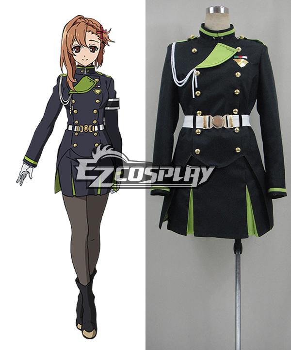 Seraph of the End Vampire Reign Owari no Serafu Sayuri Hanayori Cosplay Costume